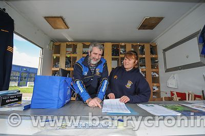 21st April, 2012. Castleknock GFC football nursery, Carpenterstown, Dublin. Pictured from Left: Kevin Hogan and Geraldine O'R...