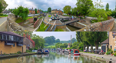 Collage of Stoke Bruerne
