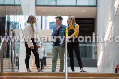 22nd October, 2018.University of Limerick. Pictured are students at the new library.Photo:Barry Cronin/www.barrycronin.com22n...
