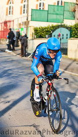 The Cyclist Talansky Andrew- Paris Nice 2013 Prologue in Houilles