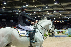 Bordeaux, France, 2.2.2018, Sport, Reitsport, Mercedes-Benz CSI Zurich - Prix FOIRE INTERNATIONALE DE BORDEAUX. Bild zeigt Ma...