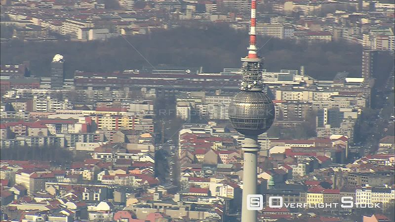 Past the Fernsehturm TV tower in Berlin