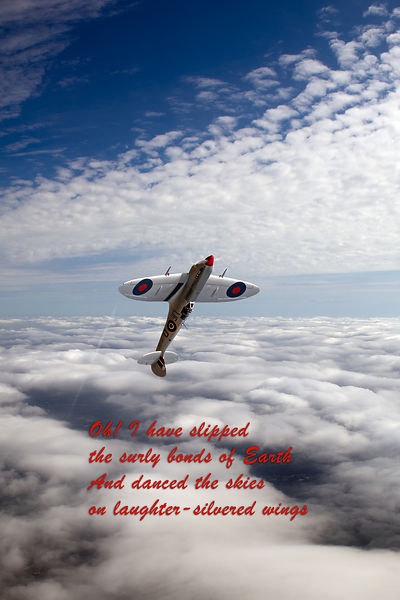 Silver Spitfire - slipping the surly bonds ...