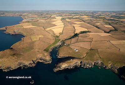 Port Quin aerial photograph