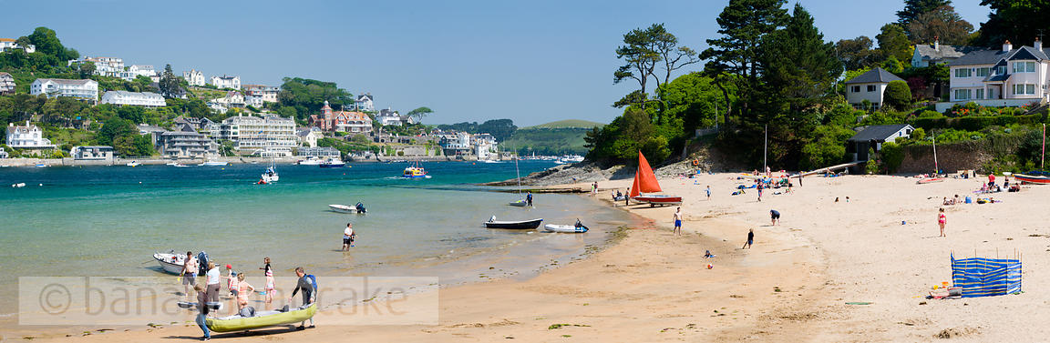 The beach at Mill Bay, Salcombe - BP2112