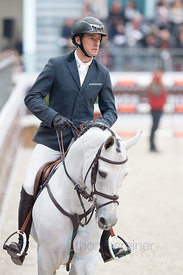 Paris, France, 17.3.2018, Sport, Reitsport, Saut Hermes - PRIX GL Events Bild zeigt Gregory WATHELET(BEL) riding MJT Nevados ...