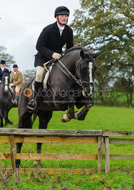 William Wyatt - The Cottesmore Hunt at Tilton on the Hill, 9-11-13