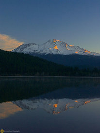 Sunrise on Mt. Shasta #2
