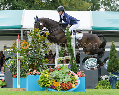 Ludwig Svennerstal and KING BOB - show jumping phase, Burghley Horse Trials 2013.