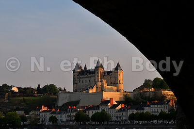 CHATEAU DE SAUMUR, MAINE ET LOIRE, FRANCE//CASTLE OF SAUMUR, LOIRE VALLEY, FRANCE