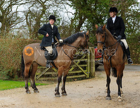 Mel Baines and Penny - The Belvoir at Burton Pedwardine