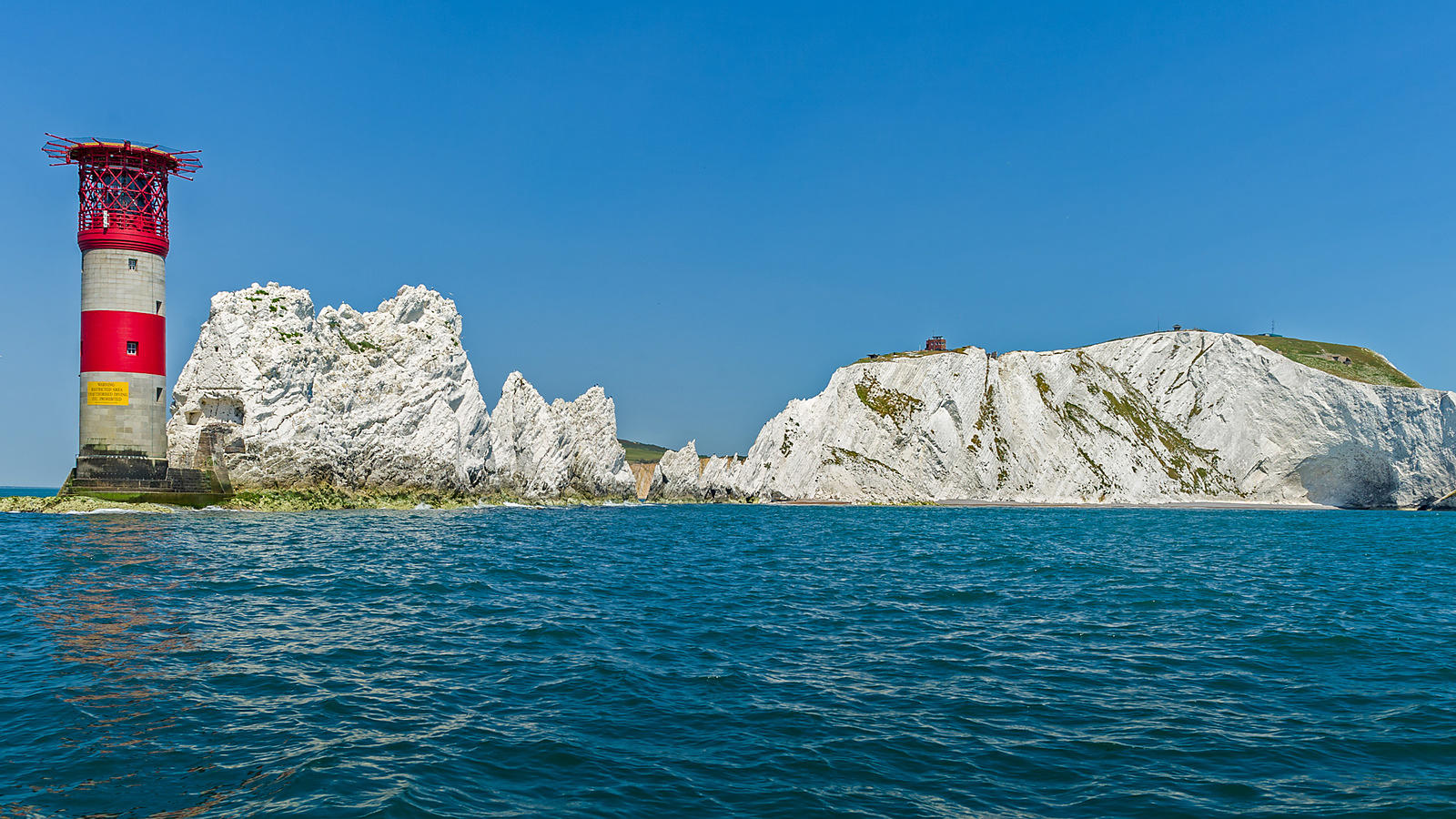 Sea View: The Needles and Old Point Battery