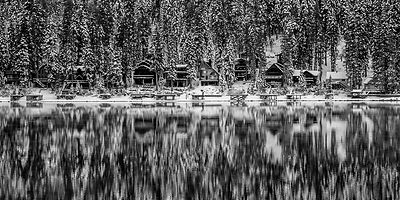 Donner Lake Reflection.
