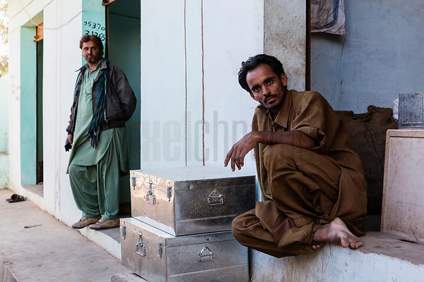 "Shop Keepers in ""Little Pakistan"""