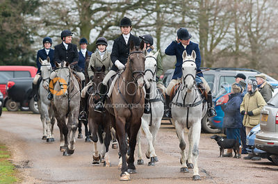 The Cottesmore Hunt at Stapleford Park 9/2