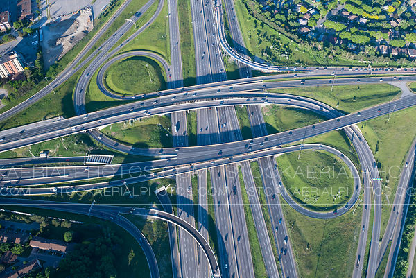 Highway 401 Interchange, Toronto