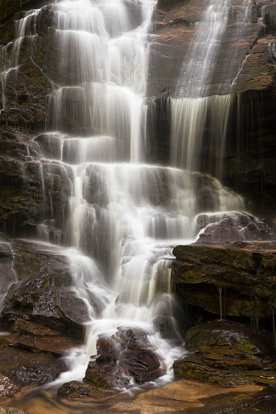 Yellow Branch Falls - a waterfall in Oconee County - Upstate SC