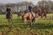 Royal Artillery Hunt 01 December 2012