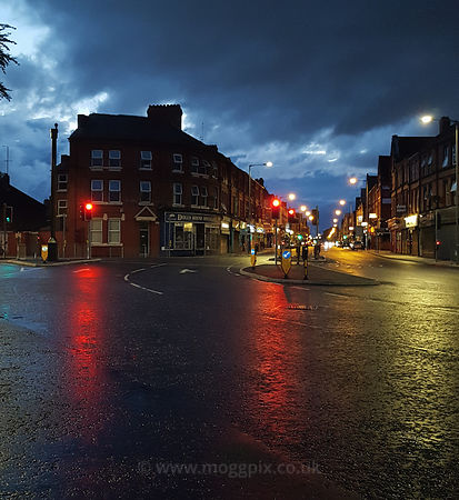 A Rainy Night in Liverpool