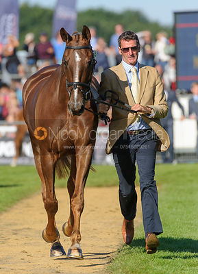 Mark Todd and OLOA - The final trot up, Burghley Horse Trials 2013.