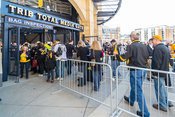 Pirate Fans Going Into PNC Park