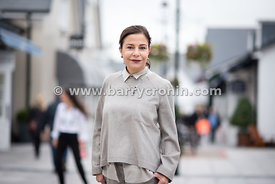 21st October, 2015.CEO, Value Retail, Desirée Bollier photographed in the Kildare Village Outlet centre.. Photo:Barry Cronin/...