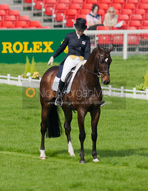 Laura Collett and Rayef - Dressage
