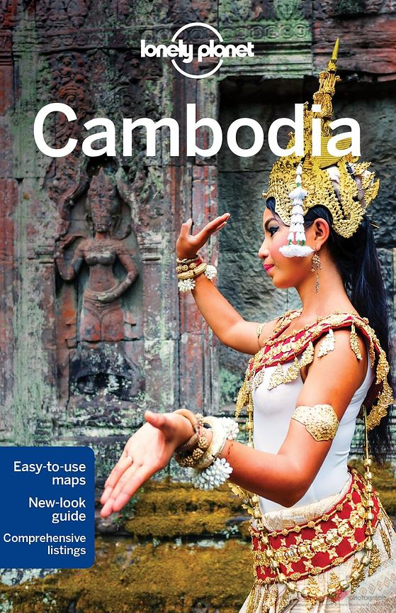 Cover Lonely Planet Cambodia guidebook