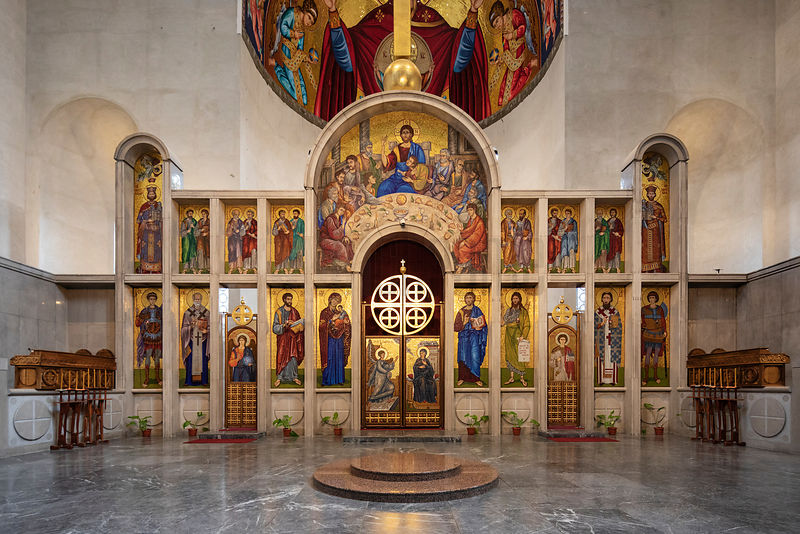 The Iconostasis in the Interior of St Marks Church