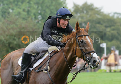 Oliver Townend and ARMADA - cross country phase,  Land Rover Burghley Horse Trials, 6th September 2014.