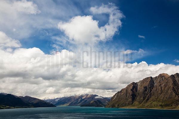 Clouds Above Lake Hawea