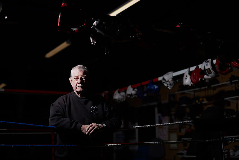 Project Daily Day 745.White Rose Boxing Club was broken into for the third time in 18 months. Pictured is Head coach John Hal...