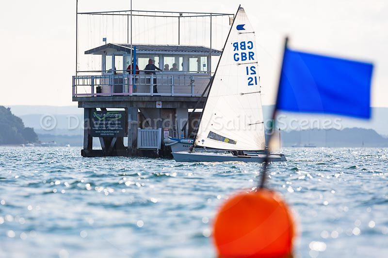 Chris Arnell's OK wins the fast handicap fleet in Zhik Poole Week 2018