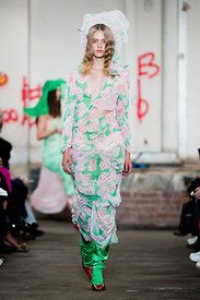 London Fashion Week, Spring Summer 2019  - Yuhan Wang, Fashion East