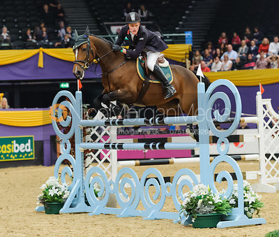 James Smith and Winday - The Horse and Hound Foxhunter, Horse of the Year Show 2010