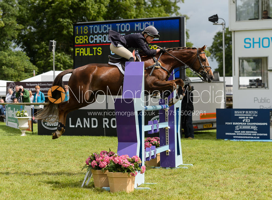 Caroline Clarke and TOUCH TOO MUCH - Bramham International Horse Trials, June 2017