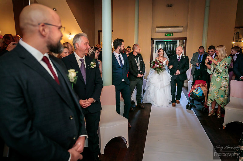 Wedding at Masa Wine Bar, Derby, Derbyshire, UK