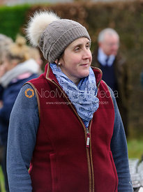 at the meet - The Quorn Hunt at Markham House 21/12