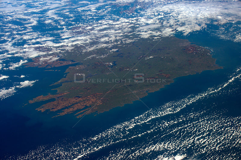 Tim Peake sends amazing image Ireland to celebrate St Patrick's Day