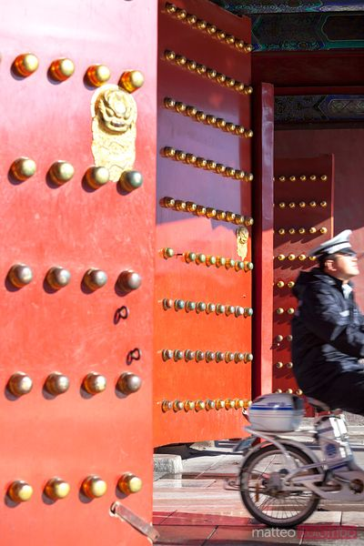 Entrance to the forbidden city, Beijing, China
