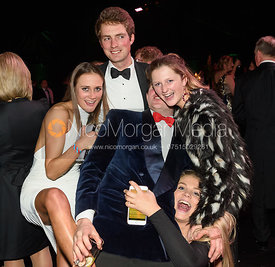 Isobel McEuen, William Bell, Tom Abel Smith, Hermione Brooksbank, Elly Broughton. The Quorn Hunt Ball