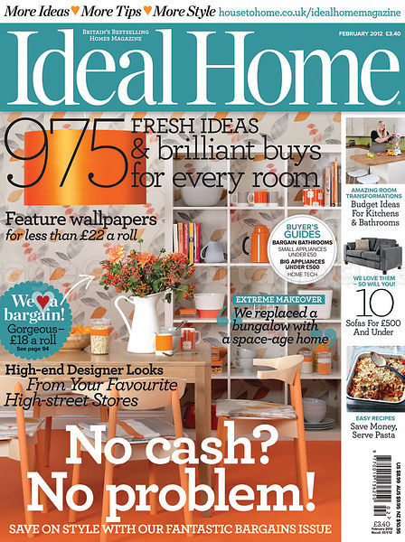 Ideal Home February 2012