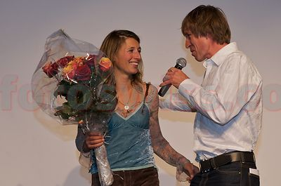 Sibylle Frischknecht with Thomas