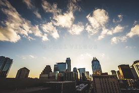 Austin Texas Downtown Buildings Photo