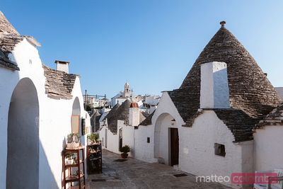 Typical Trulli houses, Alberobello, Puglia, Italy
