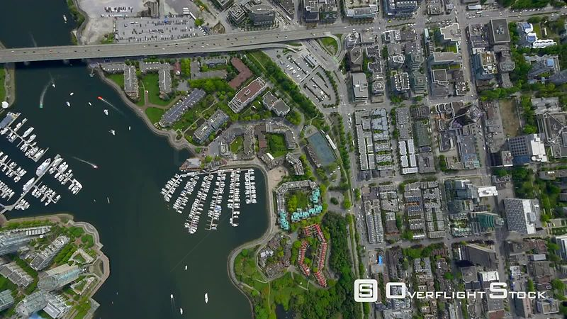 False Creek Vancouver BC Canada Footage