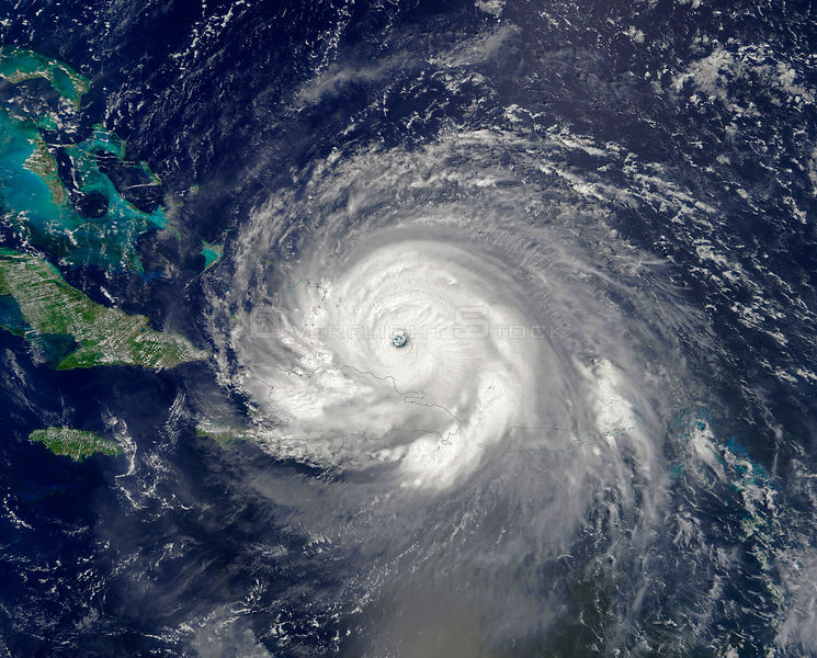 Hurricane Irma Smashes Through The Caribbean