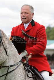 Fitzwilliam Huntsman George Adams - The Parade of Hounds,  Land Rover Burghley Horse Trials 2013.