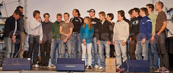 Thomas Frischknecht Bike Challenge Abschieds Party - standing ovation
