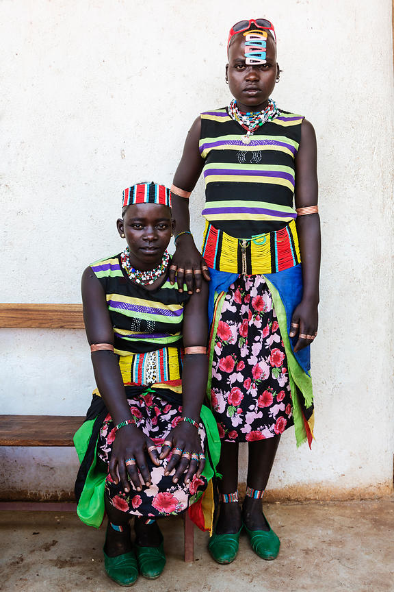 Young Women from the Bana Tribe